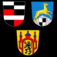 Wappen von Höchstädt im Fichtelgebirge, Thiersheim und Thierstein