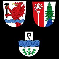 Wappen von Leonberg, Pechbrunn und Mitterteich