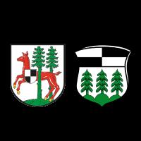 Wappen von Rehau und Schönwald